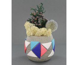 Premo Sculpey Concrete-Look Pot