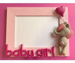 Premo Baby Girl Elephant Frame