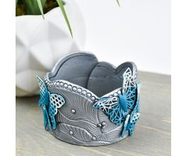 Liquid Sculpey® and Premo Sculpey® Butterfly Landing Cuff
