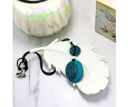 Sculpey® III - Lattice Pendant