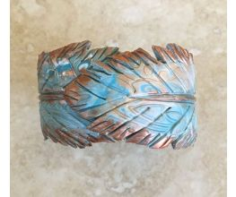 Sculpey Premo™ Feather Clay Spring Hinge Bracelet