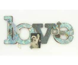 Sculpey Premo™ Antiqued LOVE Sign