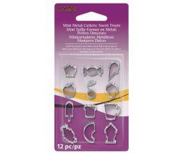 Mini Metal Cutters: Sweet Treats, 12 pc