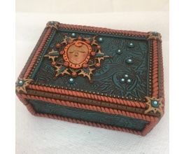 Sculpey® Soufflé and Liquid Sculpey® Mother Nature Mixed Media Trinket Box