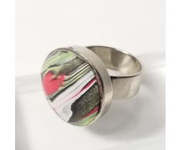 Sculpey Souffle™ Marbled Ring