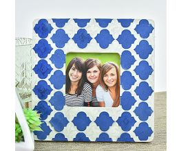 Liquid Sculpey® Navy Metallic Photo Frame