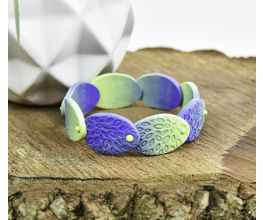 Sculpey® Soufflé Ombré Ovals Bangle