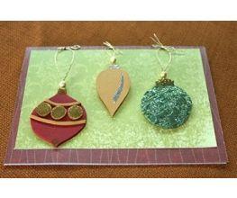 Sculpey® III Holiday Sparkle Ornament Card