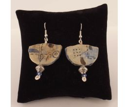 Original Sculpey® Ancient Images Earrings