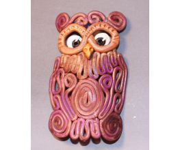 Sculpey Premo™ Wise Owl Christmas Ornament