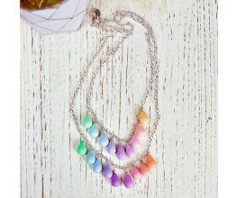 Sculpey Premo Pastel Color Spectrum Necklace