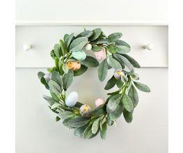 Sculpey Premo™ Pastel Easter Eggs Wreath