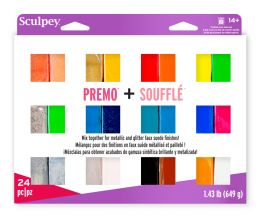 Sculpey Premo™ & Soufflé™ Multi-Pack 24 pc