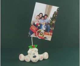 Sculpey III Polar Bear Photo Holder