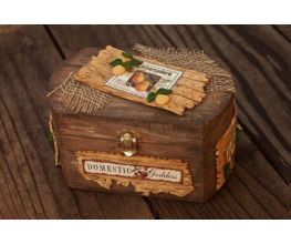 Sculpey Premo™ Distressed Wood Produce Box