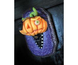 Premo! Spooky Pumpkin Head Plaque