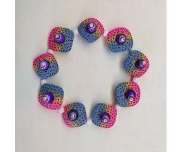 Sculpey Premo™ Rainbow Skinner Blend Bracelet
