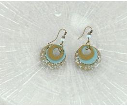 Sculpey® III Disc Earrings