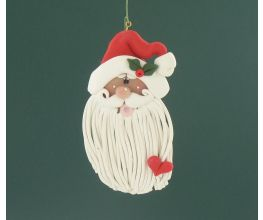 Sculpey® III Long Beard Santa Ornament