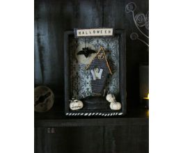 Sculpey® III Halloween Shadowbox