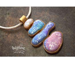 Premo! Accents Watercolor Opal Pendant