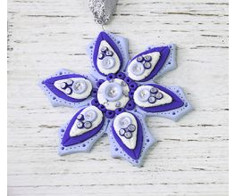 Sculpey III® Layered Snowflake Ornament