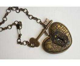 Sculpey Premo® Unlock my Heart Pendant