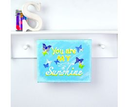 "Liquid Sculpey® ""You Are My Sunshine"" Wall Canvas"