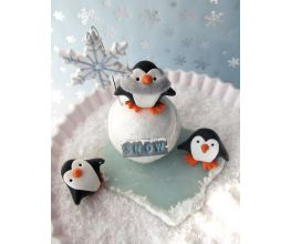 Sculpey Premo™ Penguin Snow Day