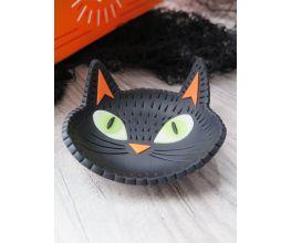 Black Cat Trinket Dish