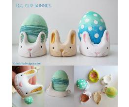 premo! Egg Cup Bunnies