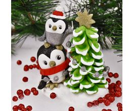 Sculpey Premo™ Penguin Topsy Turvey Tree