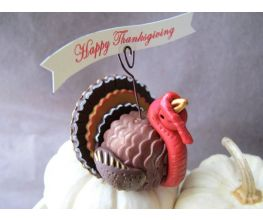 Sculpey Premo™ Turkey Place Card Holder