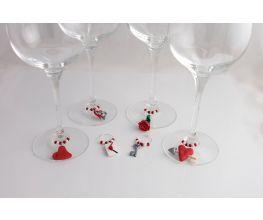 Premo! Valentines Day Wine Glass Charms