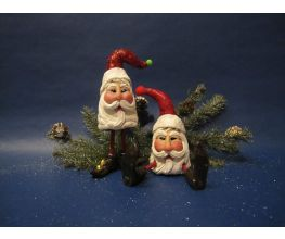 Sculpey III® Whimsical Santa Figurines