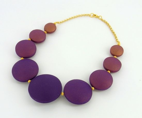 premo! Ombre Hollow Bead Necklace