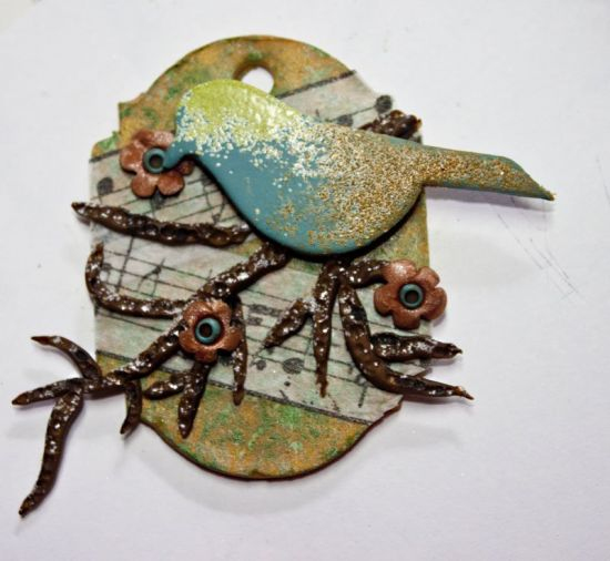 """Sculpey® III """"Life is a Song"""" Tag"""