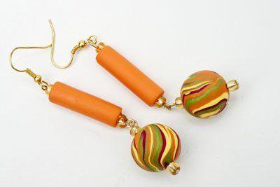 premo! Tropical Marble Earrings