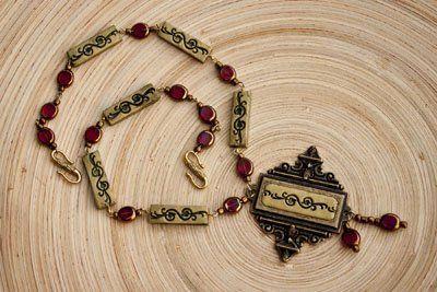 Sculpey Premo™ Ornate Renaissance Necklace