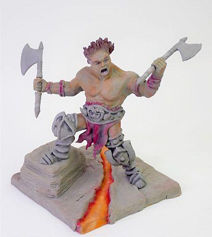 April Artist Inspiration - Ace of Clay Art Warrior
