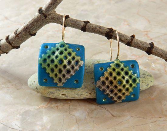 Sculpey Premo™ Lace Earrings