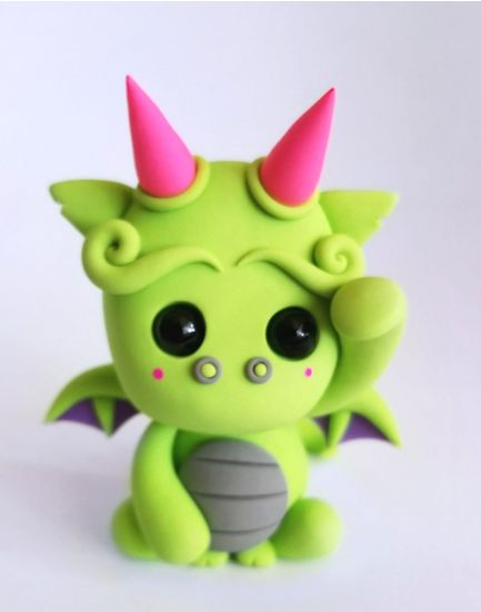 Sculpey III Dragon