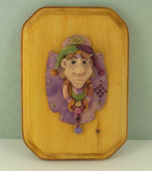Super Sculpey® Jester Plaque