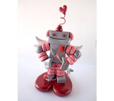 Sculpey III Little Love Machine Robot