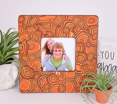 Burnt Orange Picture Frame