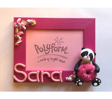 Sculpey Premo Sweet Panda Frame
