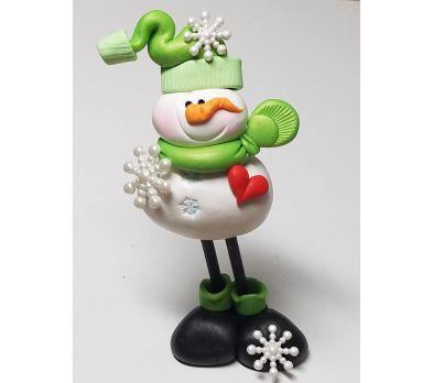Premo Stick Leg Snowman