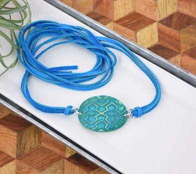 Sculpey Premo™ Shifting Diamonds Wrap Bracelet