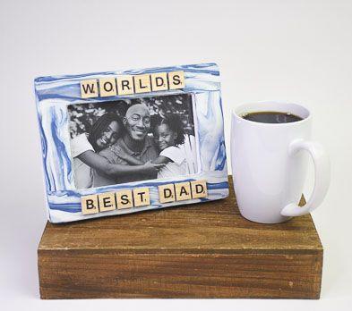 Original Sculpey® and Sculpey III® World's Best Dad Frame