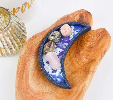 Sculpey Premo™ and Sculpey Souffle™ Crescent Moon Dish